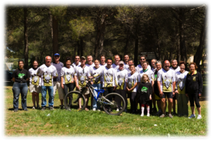 L'équipe du VTT Club du Jacquemard